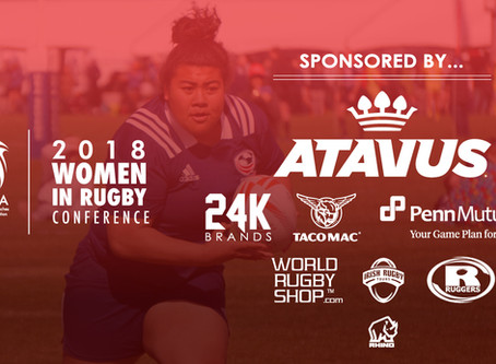 Five New Sponsors Join Women In Rugby Conference