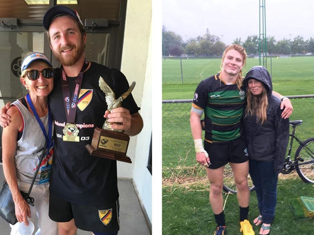 Women's Rugby Through the Generations: Mothers and Sons