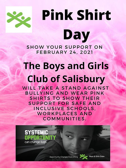 PINK T-SHIRT DAY _ On February 24, 2021