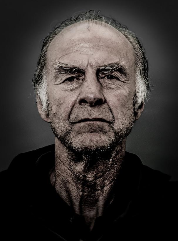 Sir Ranulph Fiennes portrait by Chris Levine