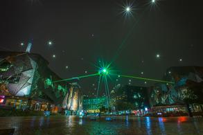 Federation Square, Melbourne for Chris Levine