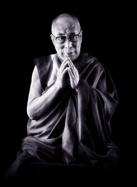 Dalai Lama portrait by Chris Levine