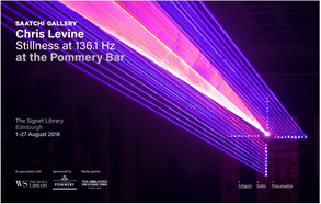 Saatchi X Edinburgh Fringe for Chris Levine