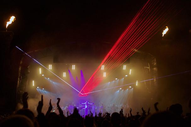Glastonbury Festival for Chris Levine