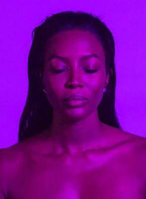 Naomi Campbell portrait by Chris Levine