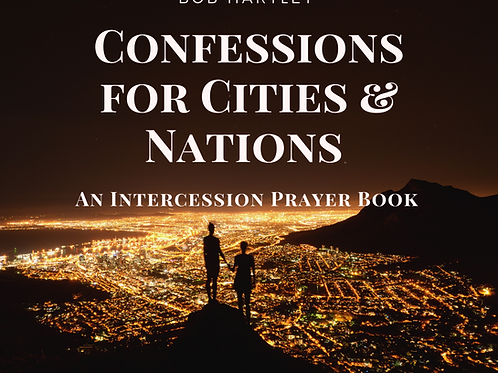 Confessions for Cities & Nations Prayer Book