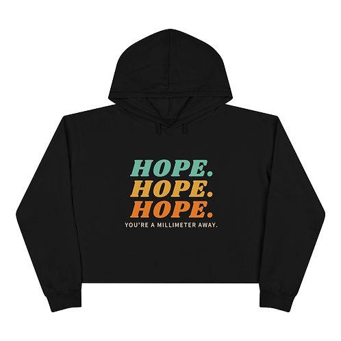 Hope Crop Hoodie