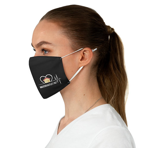 Yellow House Fabric Face Mask