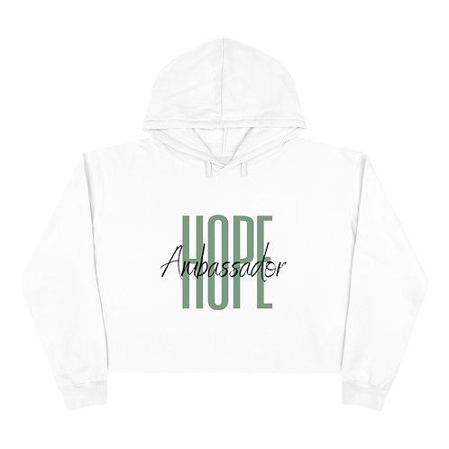Green Hope Ambassador Crop Hoodie