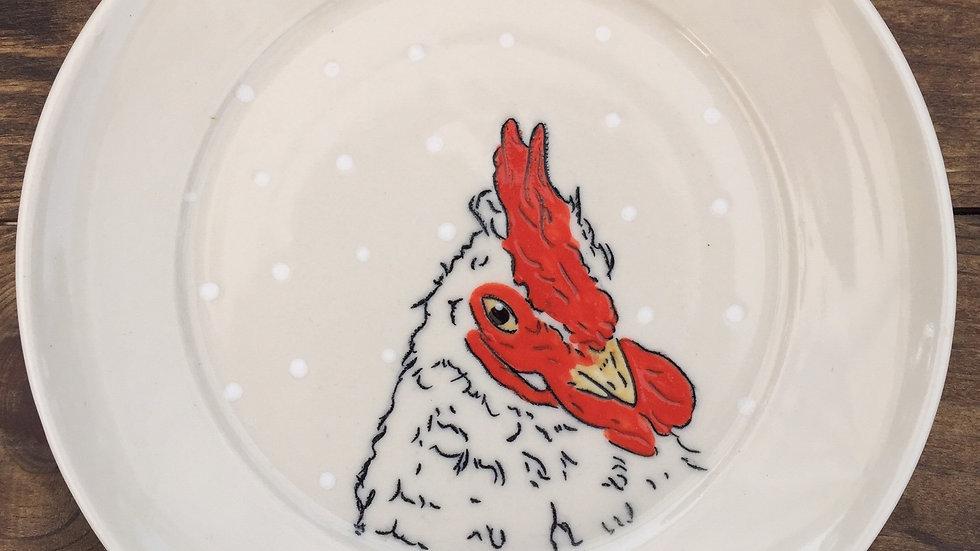 Chicken dessert plate