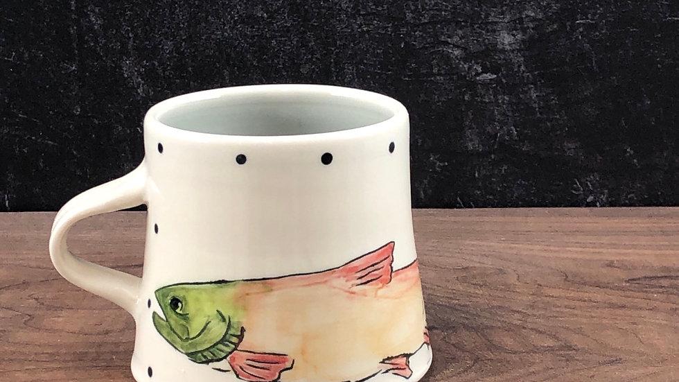 pink salmon mug (SALE)