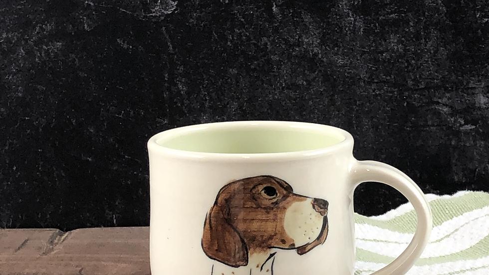 Pointer dog mug
