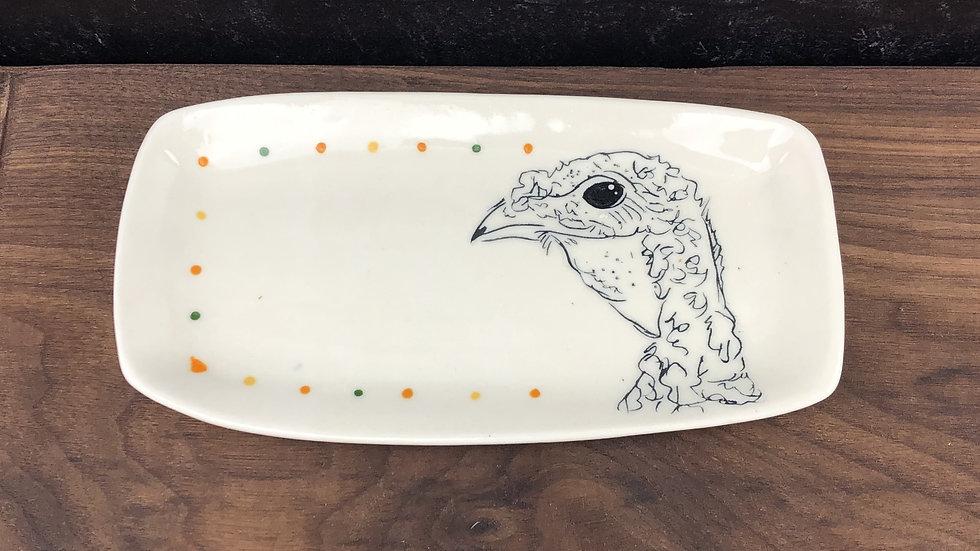 rectangular turkey plate