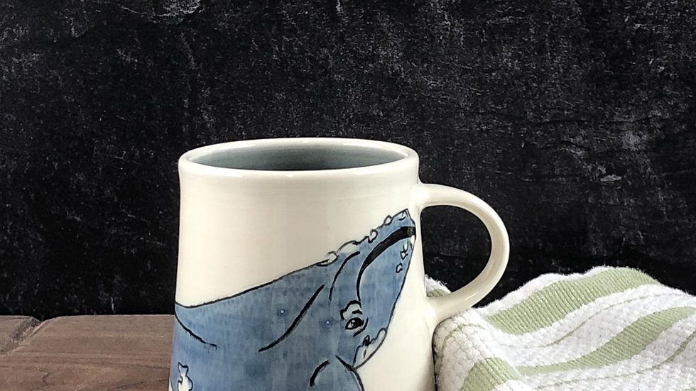 right whale mug