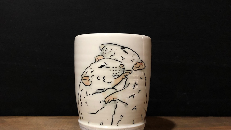 snuggly mice tumbler