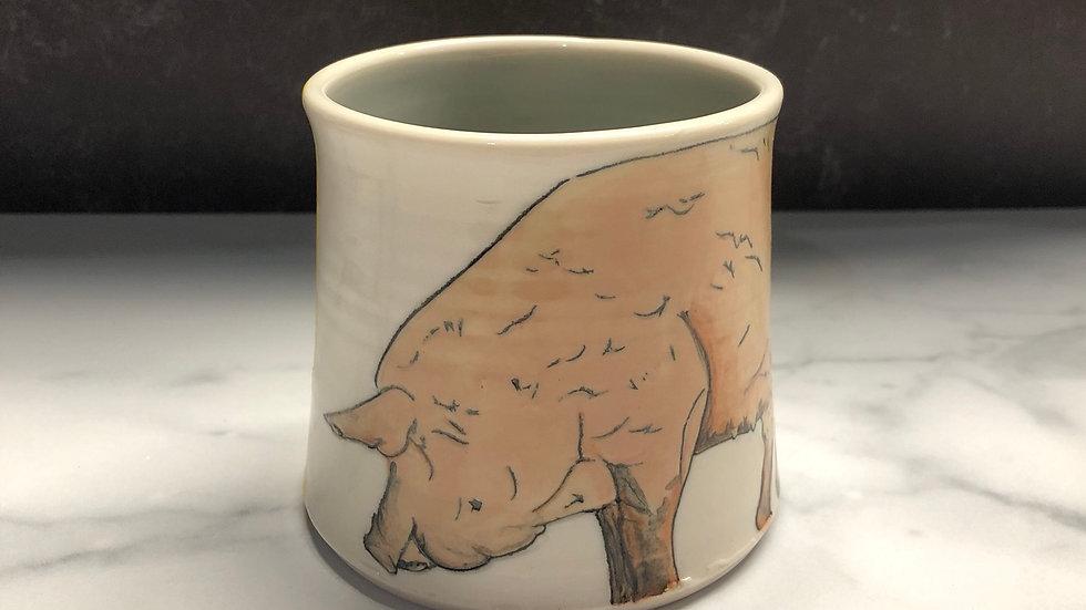 dirty pig mug