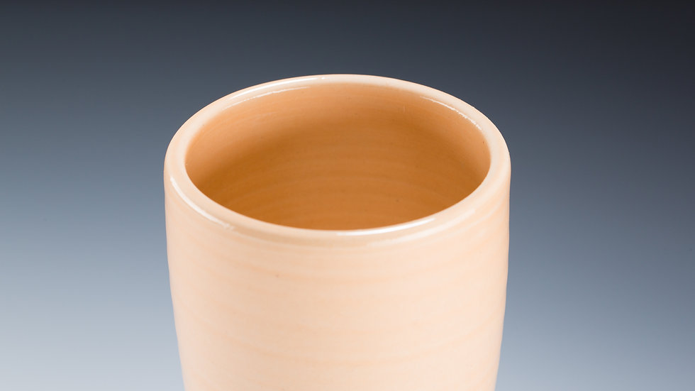 peach crackle tumbler