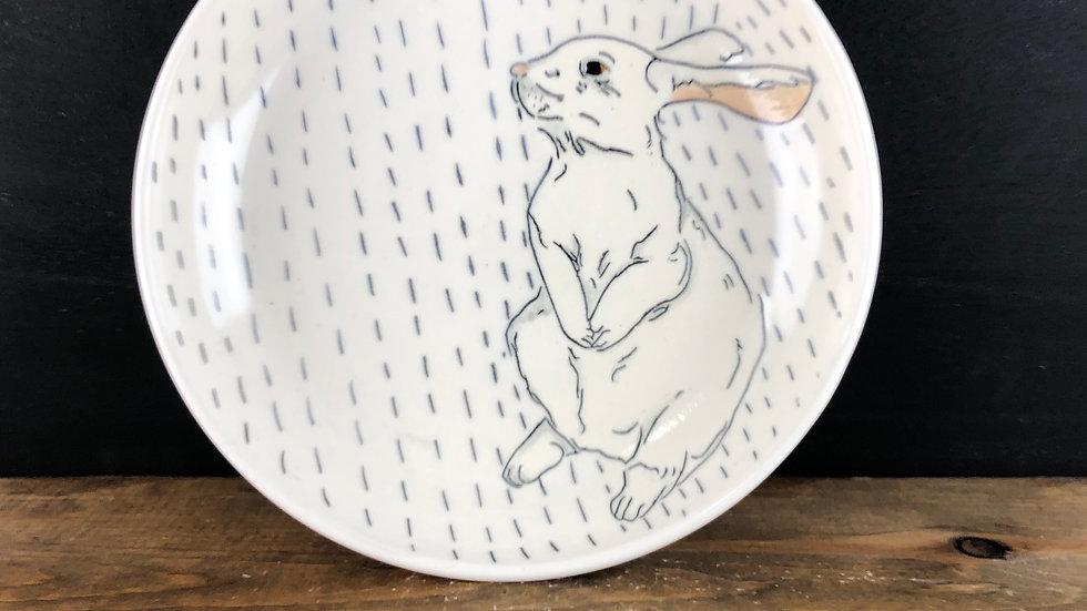 rabbit serving bowl