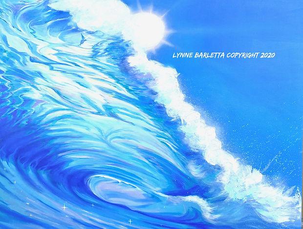 Wave - Art Giclee by Lynne Barletta at Visionary School of Arts