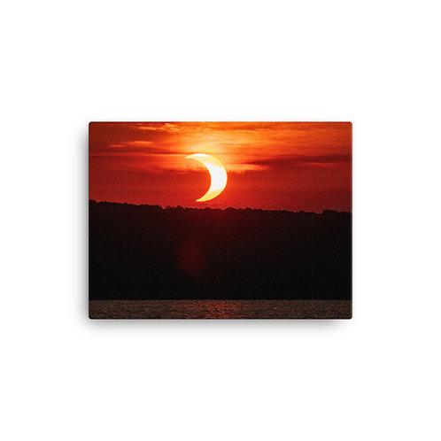 Eclipse Canvas by Geoff Estes Photography