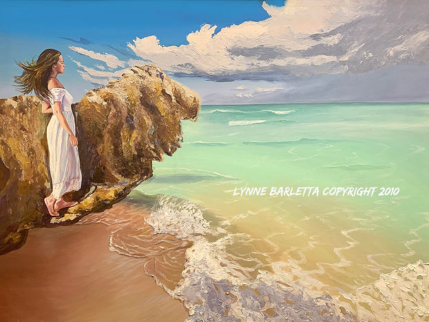 Courage -Art Giclee by Lynne Barletta at Visionary School of Arts