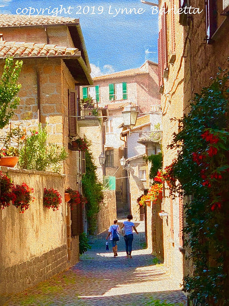Afternoon Stroll Orvieto, Italy copy.jpe
