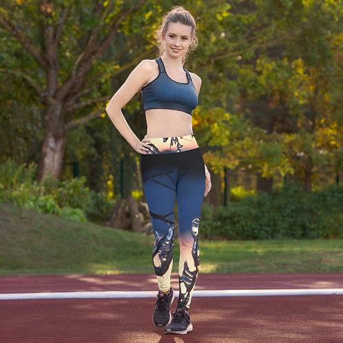 Icicle Sunset Yoga Pants