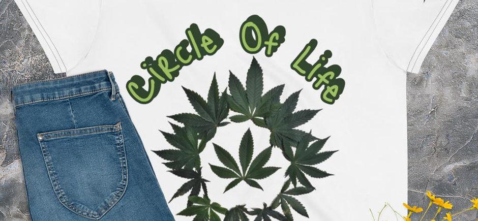 Circle of Life MJ Cropped Tee