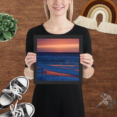 Soo Superior Sunset Framed Poster