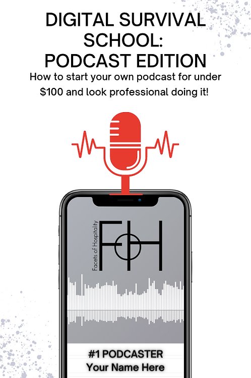Digital Survival School: Podcast Edition