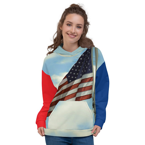 America First | FacetHub Hoodie