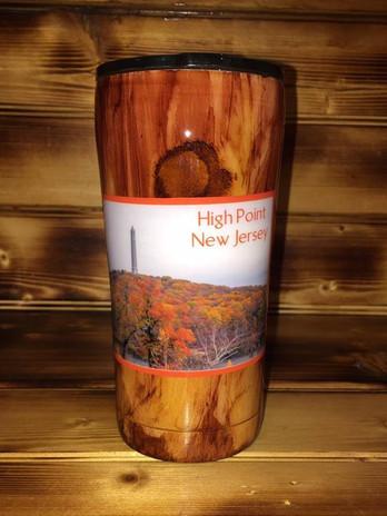 Wood Grain High Point Tumbler