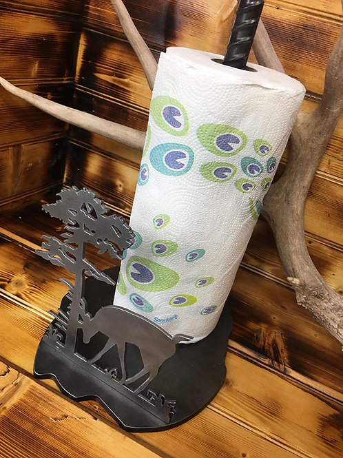 Whitetail Buck Paper Towel Holder