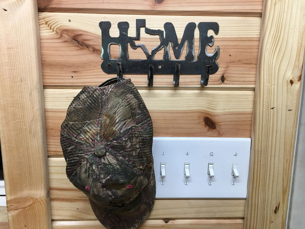 Texas Home Key/Hat Holder