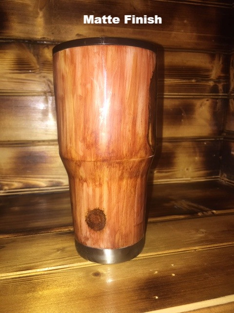 IMG_4851_edited.jpgDark Wood Grain Tumbler 30oz Matte Finish