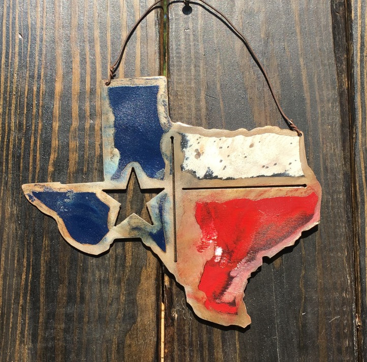 Distressed Texas Sign