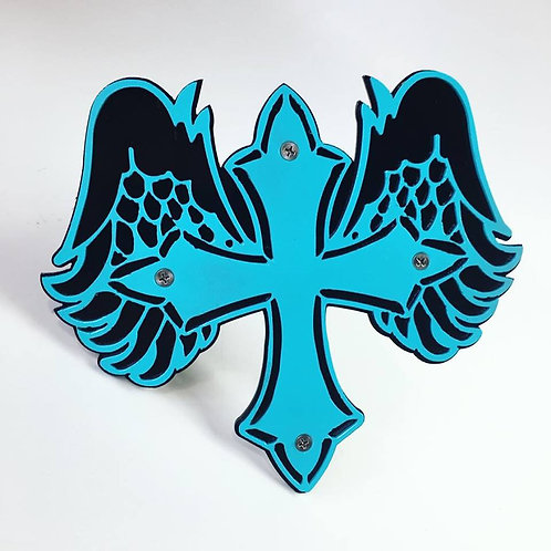 Angel Cross Trailer Hitch Cover