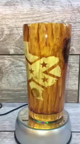 Texas Wood Grain 20oz video