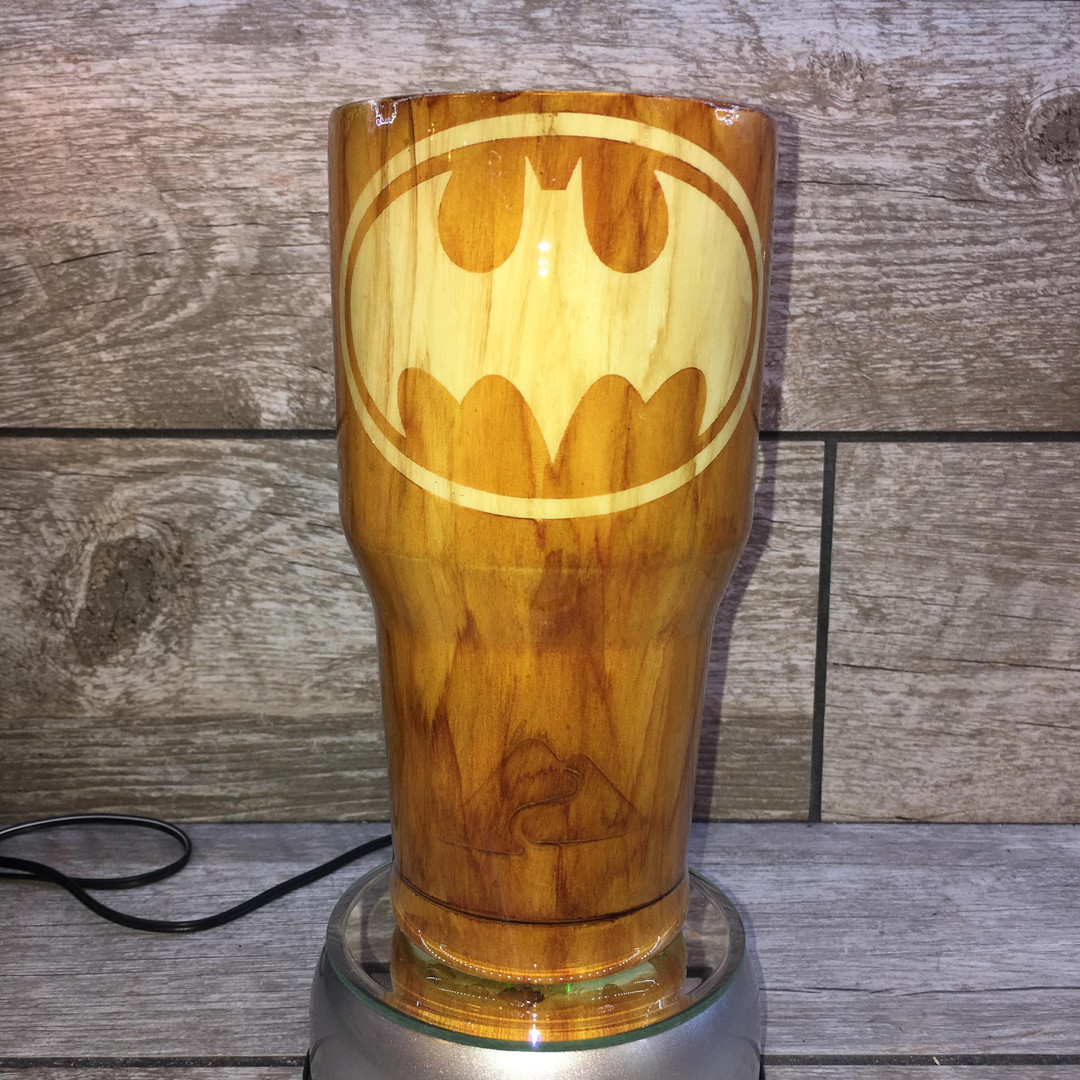Batman 2 Tone Wood Grain