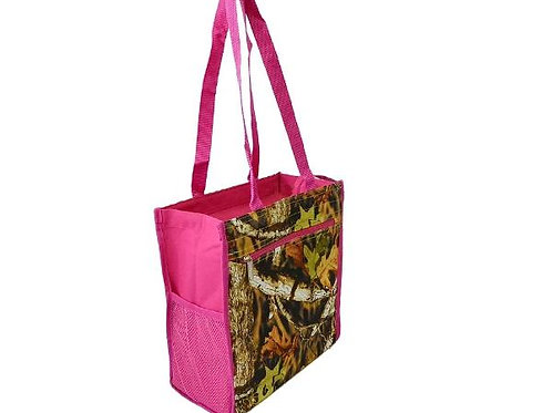 Camo-Pink Tote - Beach Bag