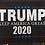 Thumbnail: Trump 2020 Welcome Charcoal Door Mat