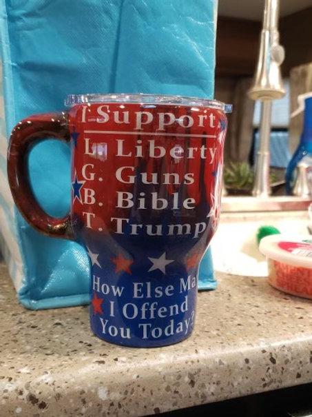 I SUPPORT L.G.B.T. TUMBLER