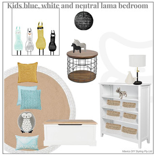 Kids lama bedroom