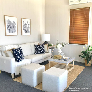 Living room styling