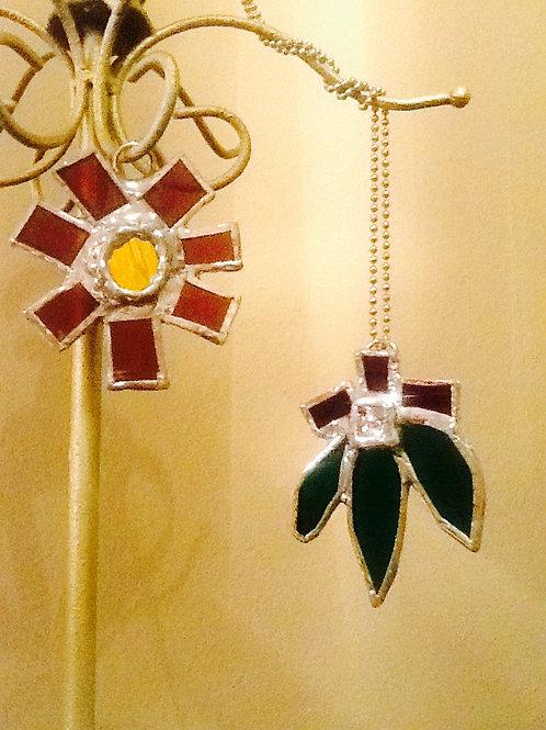 Copper Foil Necklaces
