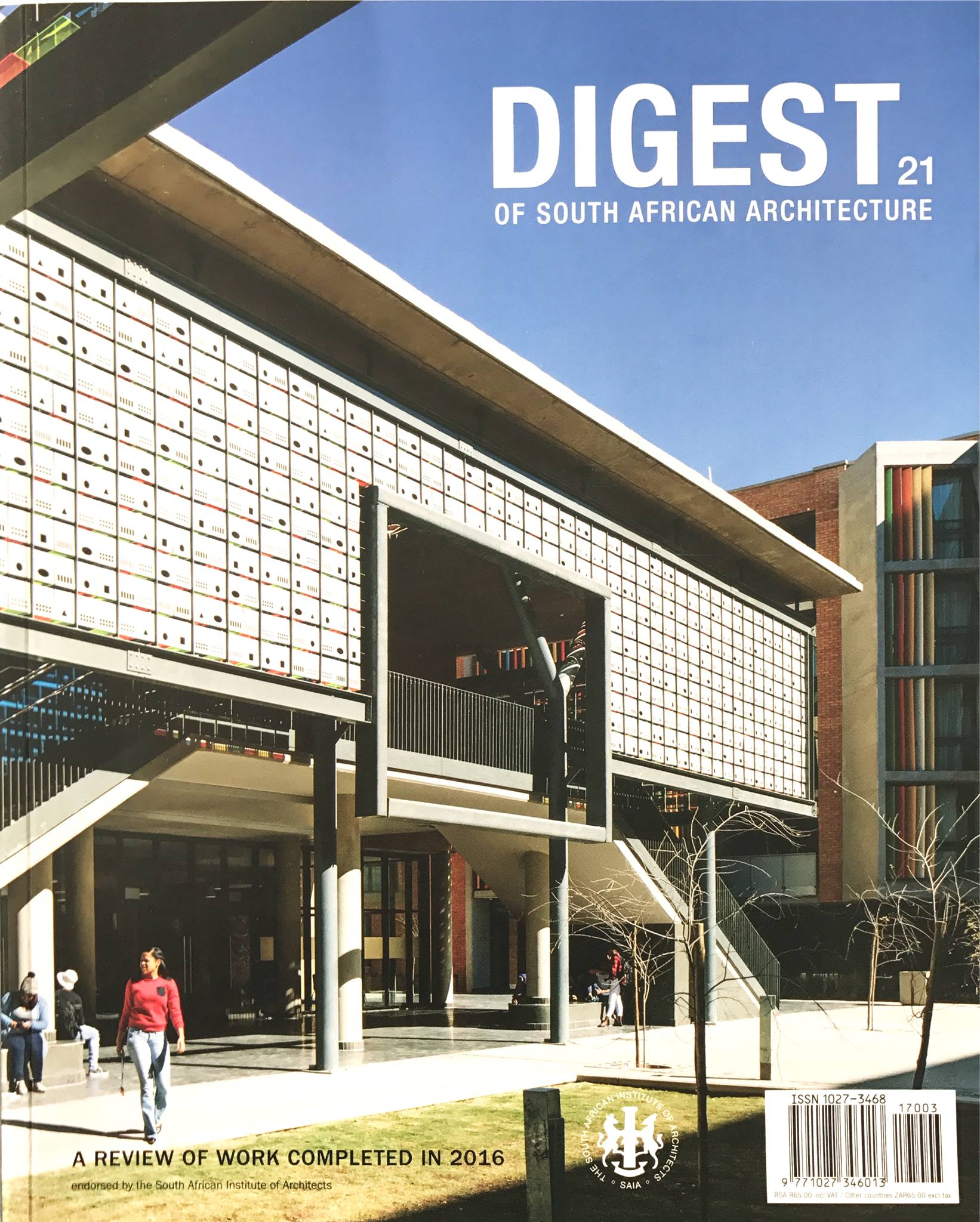 DIGEST OF SOUTH AFRICAN ARCHITECTURE