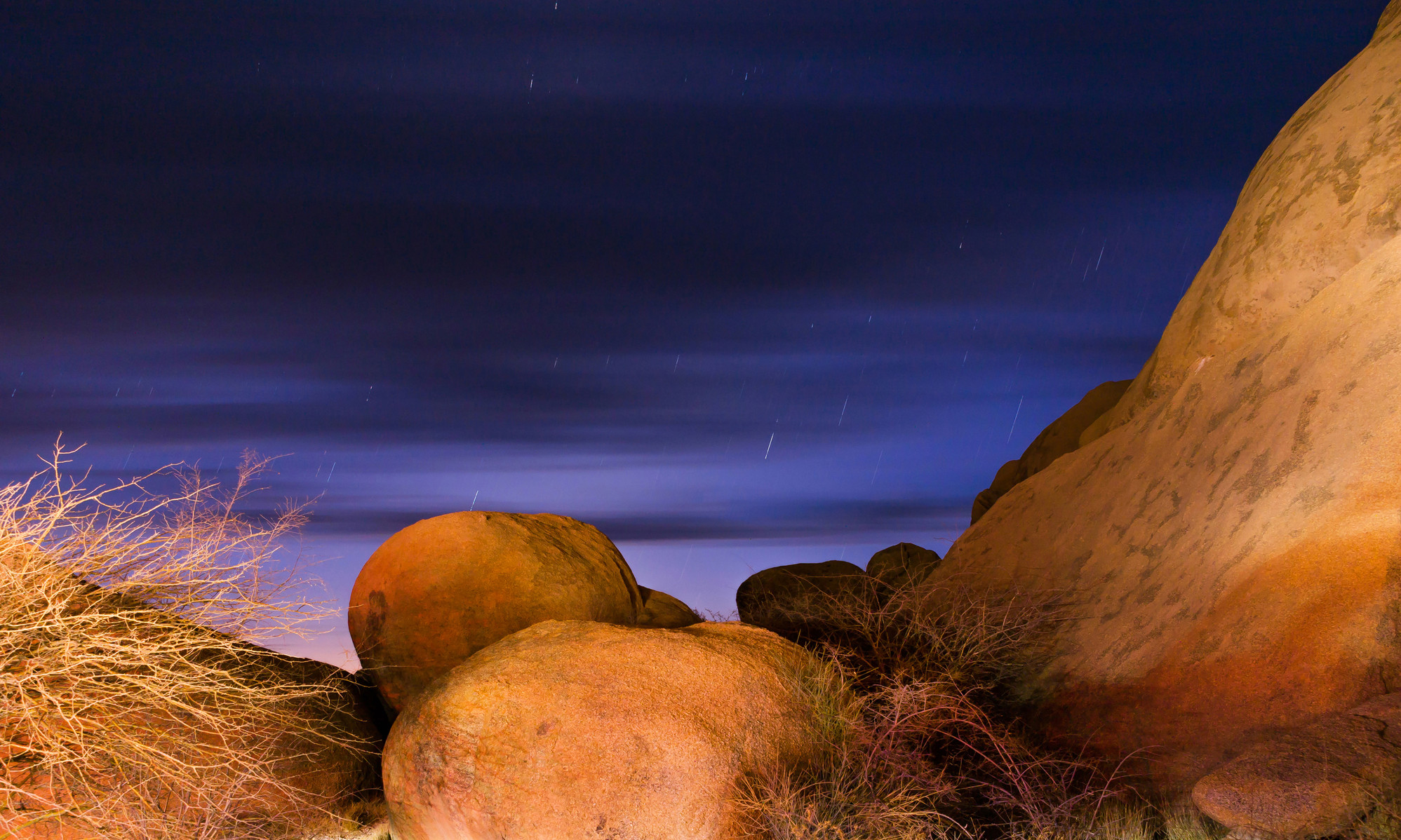 SPITZKOPPE AT NIGHT