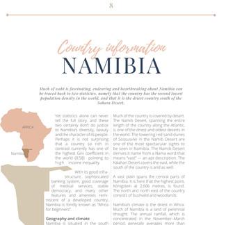 WHO'S WHO NAMIBIA