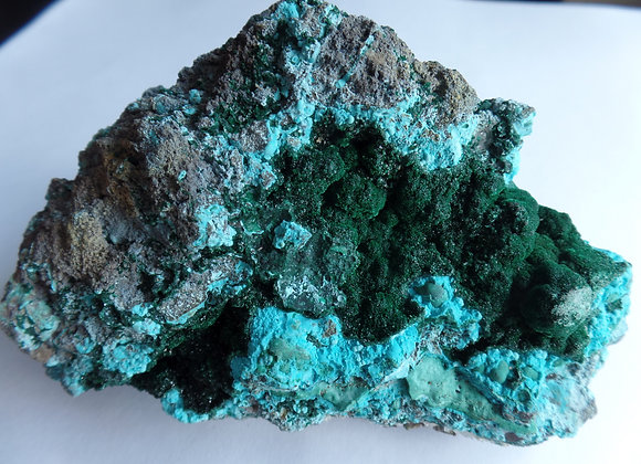 CHRYSOCOLLA / MALACHITE