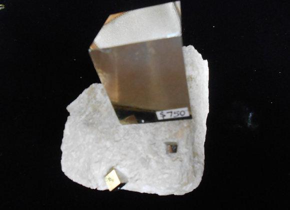 Pyrite Cubic Crystal